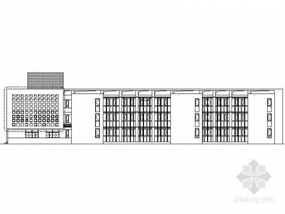 [安徽]12班幼儿园托儿所建筑设计施工图