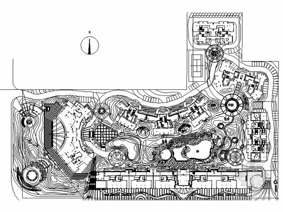 [广西]庭院花园景观规划设计施工图