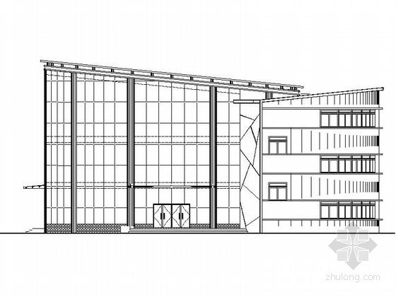 圆筒状高级会所建筑方案图