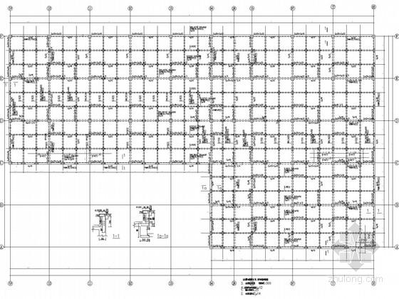 [鞍山]两层框架厂区工程结构施工图(含建施)