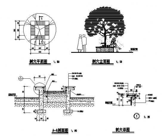 树穴详图1-4