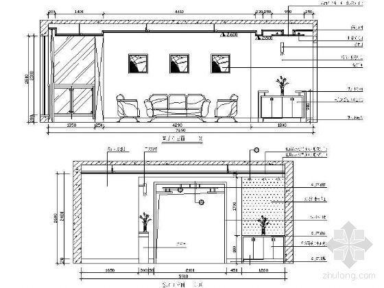 客厅立面设计详图