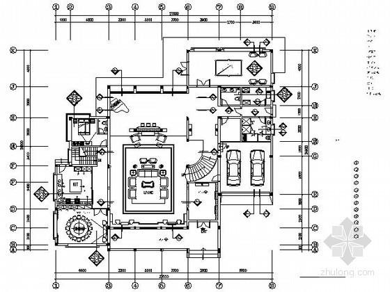 [福建]中式五层独栋别墅精装施工图