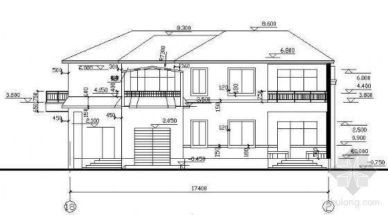 全套2层砖混结构别墅建筑结构施工图纸