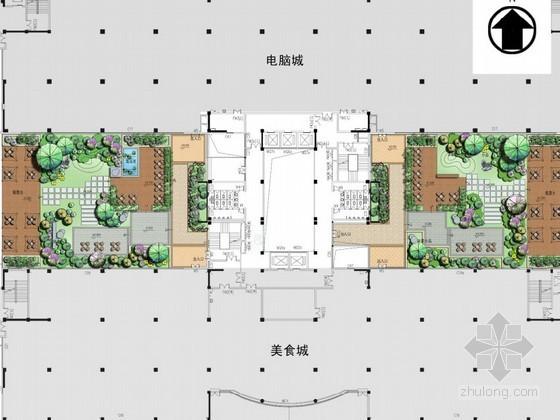 办公大楼空中花园景观设计方案