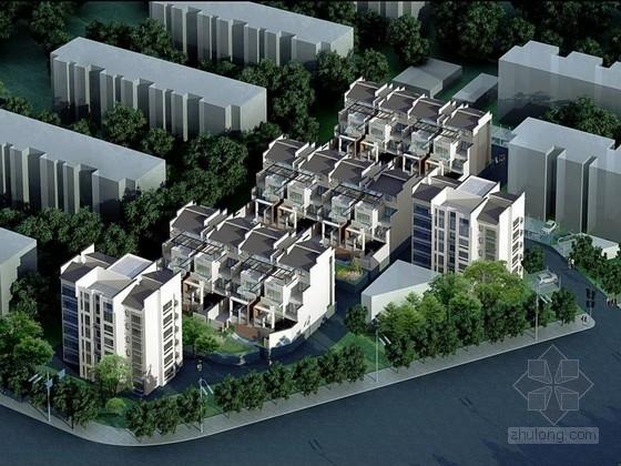 [北京]简约江南中式风格住宅区规划及单体设计方案文本(附图丰富)