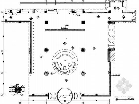 气派办公楼大堂室内装修图
