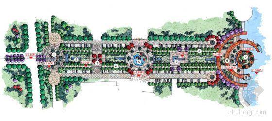 江苏苏州某商业步行街景观规划设计方案