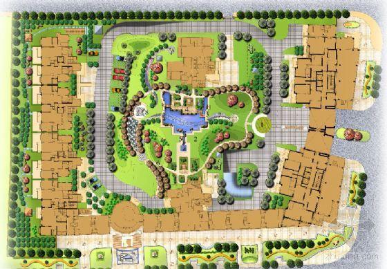 某小区景观方案设计