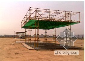 福建某医院工程施工平面布置方案(临建 临水 临电)
