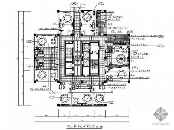 三星级酒店餐厅包房设计装修图