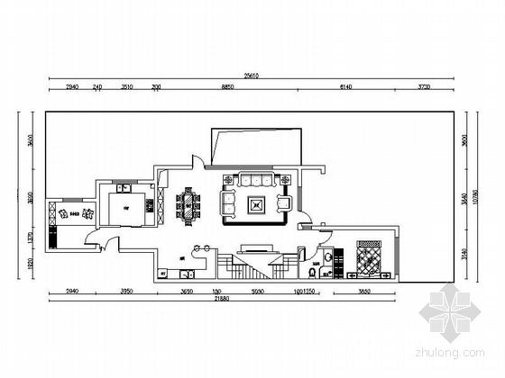 [北京]古典欧式双层别墅室内装修图(含效果)