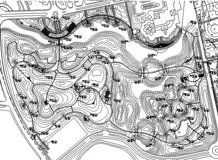 [南京]湿地郊野公园景观工程全套设计施工图(甲级设计院)
