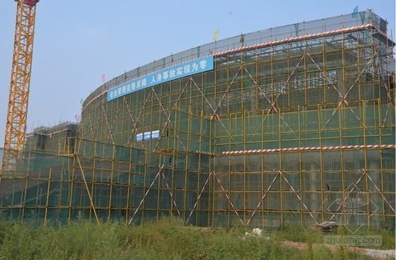 [天津]体育学院体育馆及排球馆工程标准化做法观摩照片