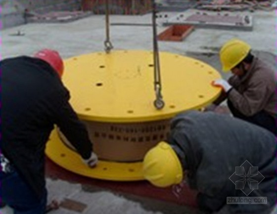 [QC成果]确保高层大型隔震预埋钢板安装质量