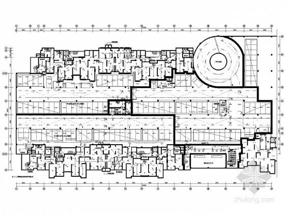 [陕西]甲级设计院大型住宅项目全套电气施工图纸116张(3栋一类高层、地下室,附完整计算书)