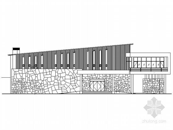[武当山]玄武湖某国际大酒店二层酒店会所建筑施工图