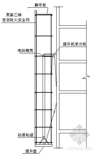 成都某工程提升脚手架搭设方案