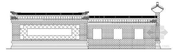 古典景墙详图