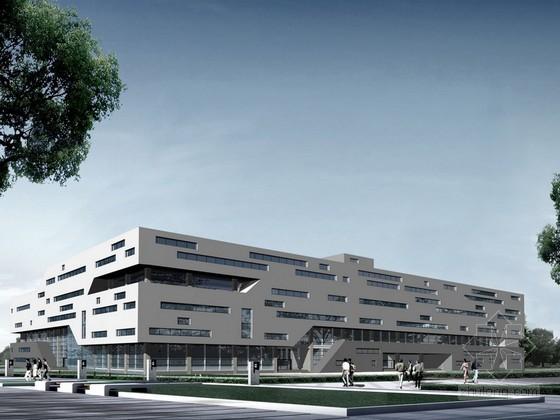 [太原]某大学图书馆建筑方案文本(含CAD)