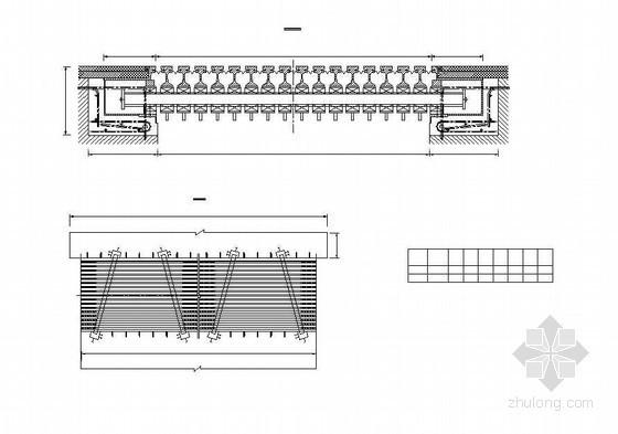 双塔双索面预应力斜拉桥主桥上部伸缩缝布置图、纵向活动拉压球型支座安装节点详图设计