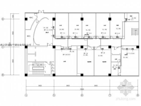 [浙江]高层办公楼空调通风系统设计施工图