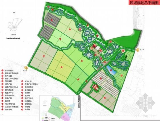 四川省彭州市通济镇黄村灾后新农村建设景观规划设计——绿色安全:新农村、新农业、新农民