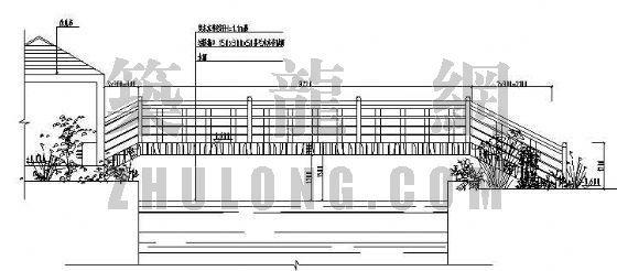 轻质钢结构过桥施工图