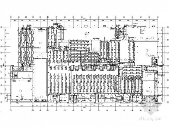 [青岛]食品工厂空调通风设计平面图