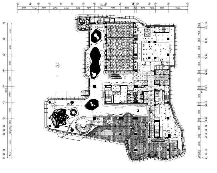 [海南]三亚山海天·傲途格精选酒店设计CAD施工图(附效果图)