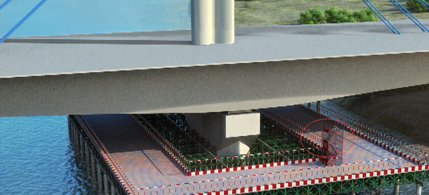 斜拉桥黄河大桥正桥及互通立交引桥工程上下结构施工技术三维动画演示(10分钟)_9
