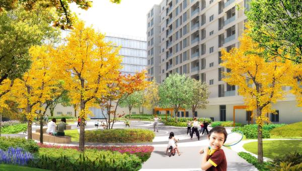 [浙江]知名品牌配套公共艺术空间高档商住项目景观设计方案