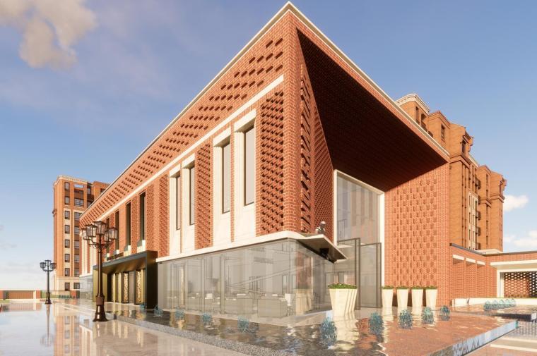 [上海]上海金地·泗泾样板区建筑模型设计(2018年)