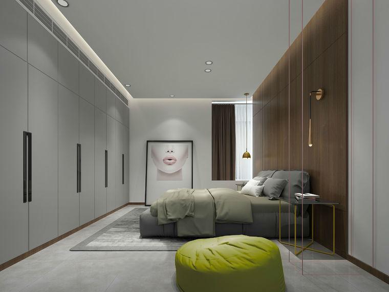 [案例鉴赏]96平米现代风格装修,造价10万-1