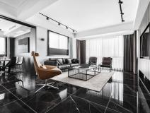 120m2现代家居空间