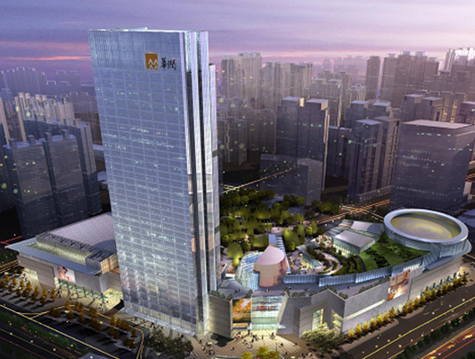 华润置地万象城钢结构深化设计方案