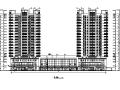 [西安]18层框架剪力墙结构商住楼建筑施工图(含人防)