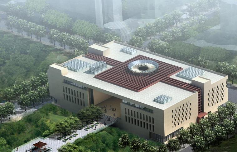 牛墩文化活动中心文本建筑设计(CAD+文本)