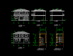 砖混结构小别苏结构施工图资料免费下载