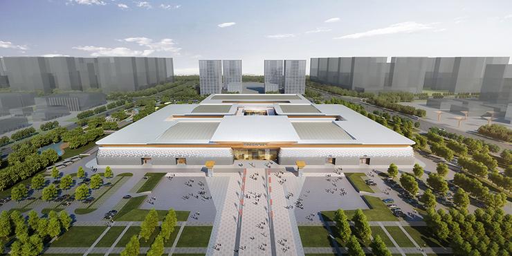 全国7大会展中心设计合集(实景图+效果图)-27
