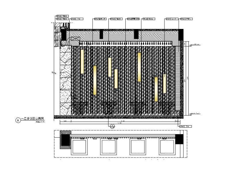 [厦门]时尚奢华高端大气售楼处室内设计施工图(含效果图)_6