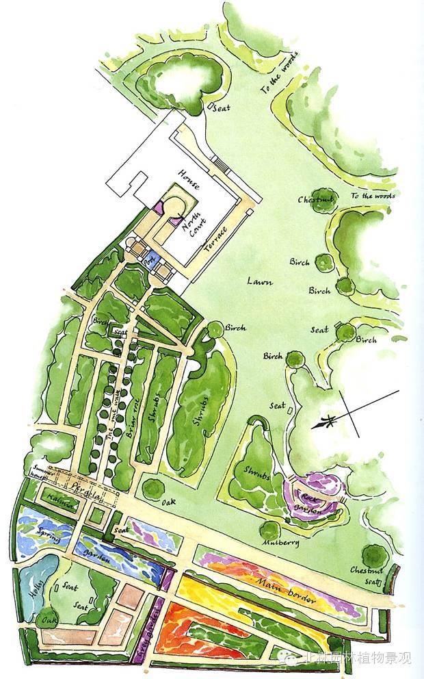 经典案例真正的花园式住宅——蒂讷瑞住宅花园_2