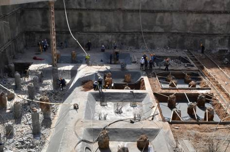 一座高楼大厦是这样建成的:土建施工全过程各项施工流程!