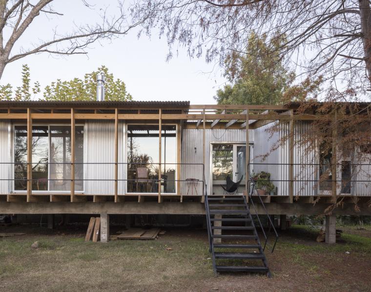 阿根廷三角洲住宅-5