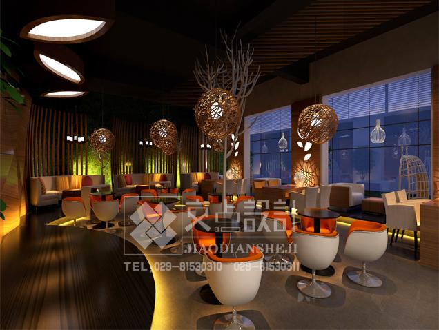 [交点设计]中式风格在茶楼中的设计要点