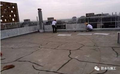 屋面防水卷材的渗漏原因分析与修复方法!
