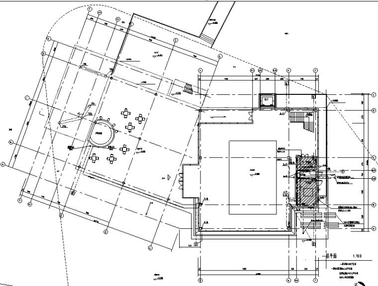 星河常州项目一期售楼处给排水工程系统施工图(CAD)