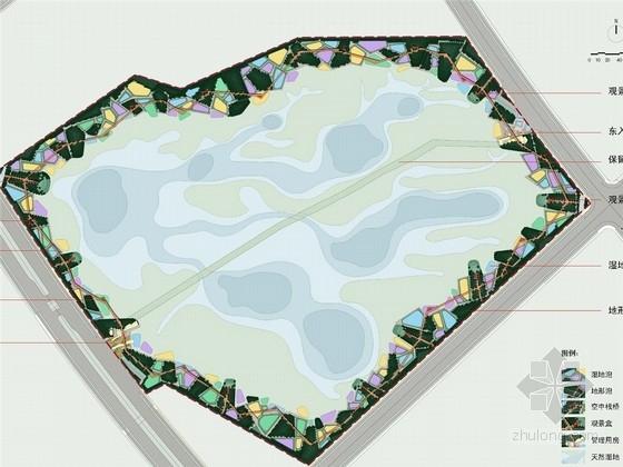 """[哈尔滨]""""生命的细胞""""生态湿地公园景观设计方案"""