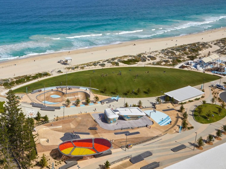 澳大利亚斯卡伯勒海滩改造