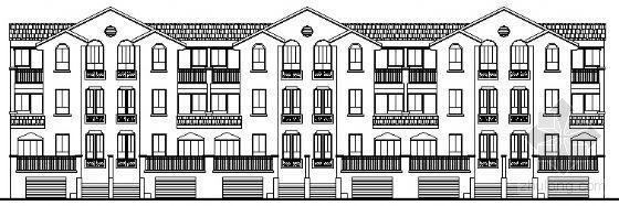 某四层联排别墅方案设计(2号11号)